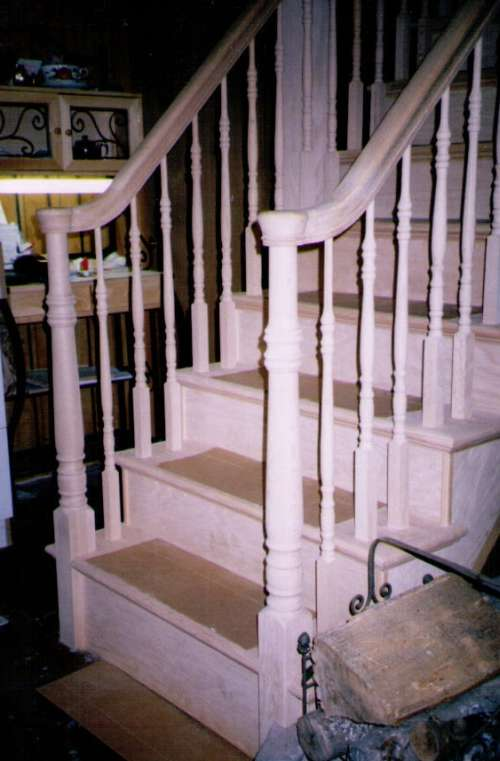 Staircase 1 Unfinished